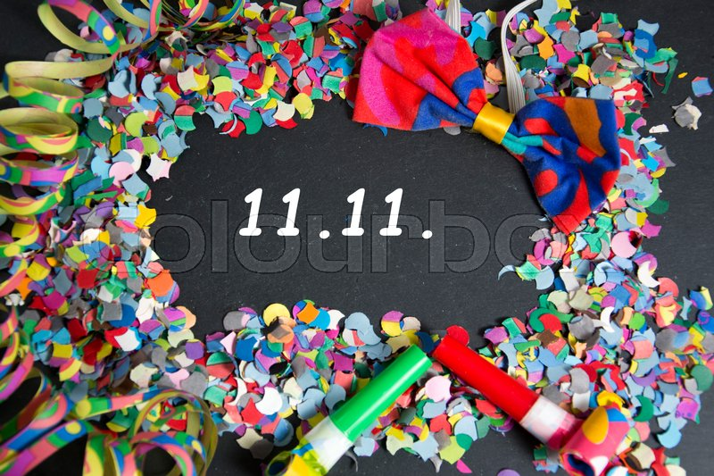 Stock image of '11., 11.11., november'