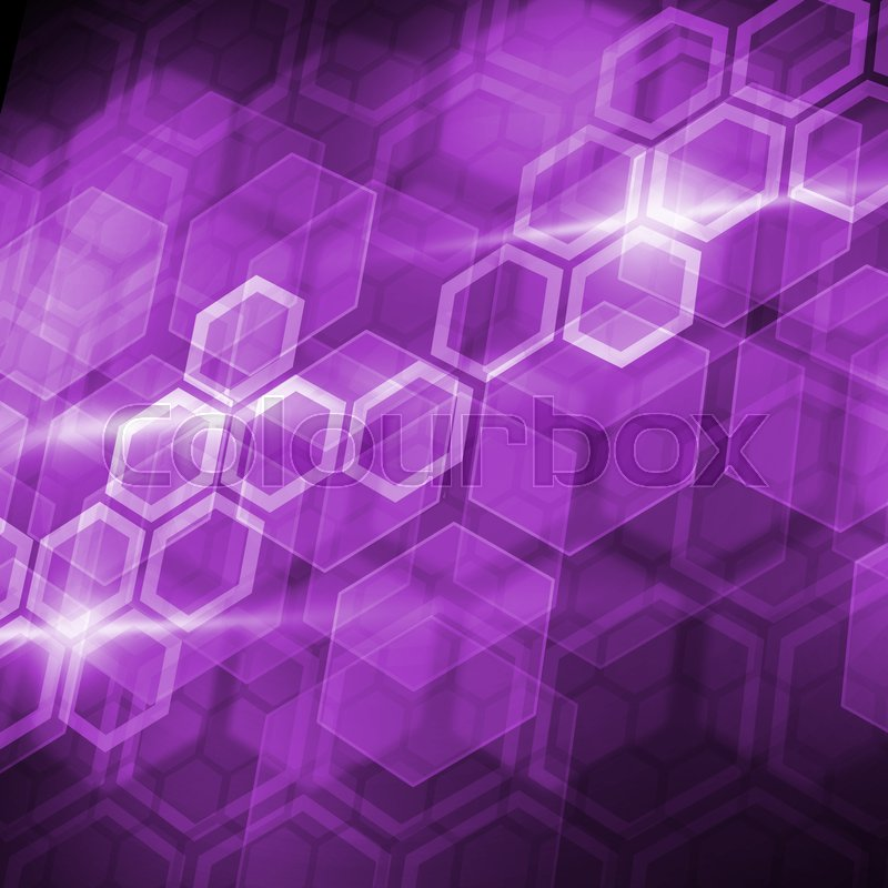 Stock image of 'Abstract connection structure as connection concept on color background'