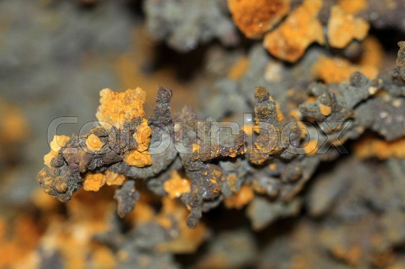 Stock image of 'Raw piece of copper from Morocco'