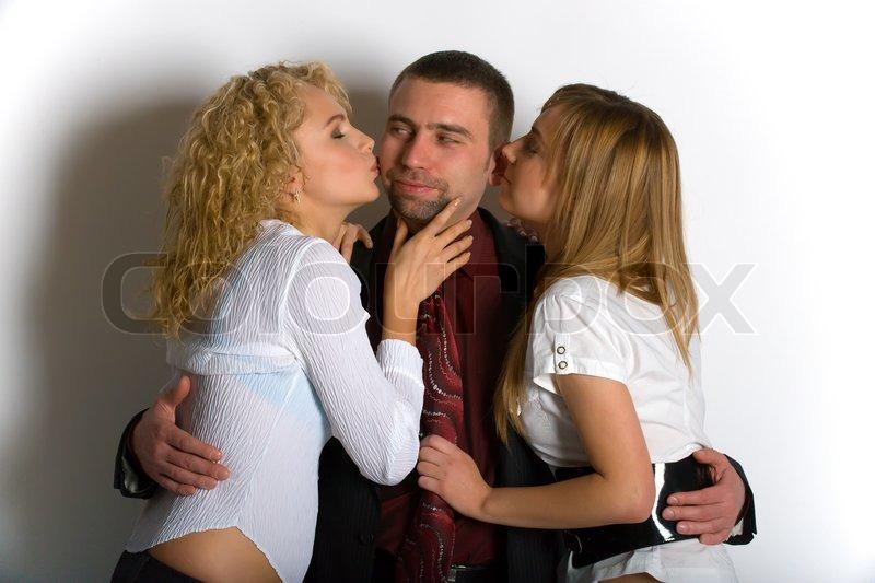 professionel dame kysse