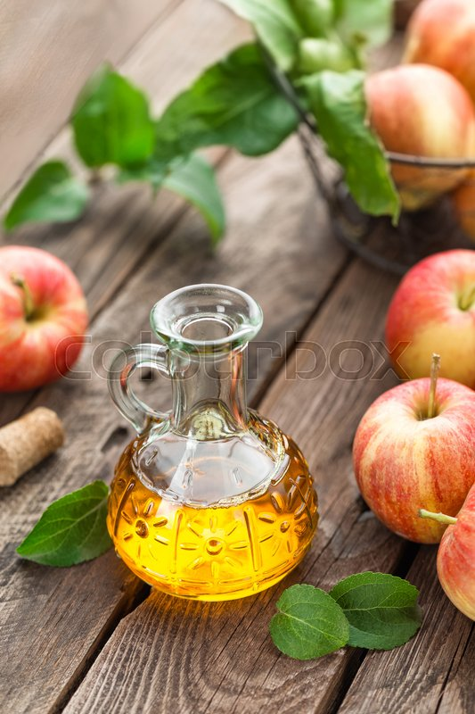 Stock image of 'Apple cider vinegar'