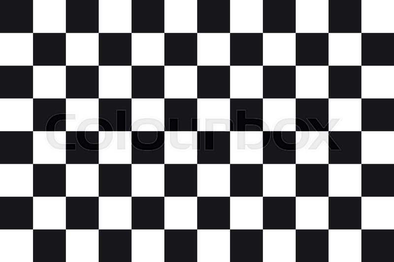 Racing Checkered Flag >> Checkered Racing Flag Symbolic Design Of End Of Car Race Black And