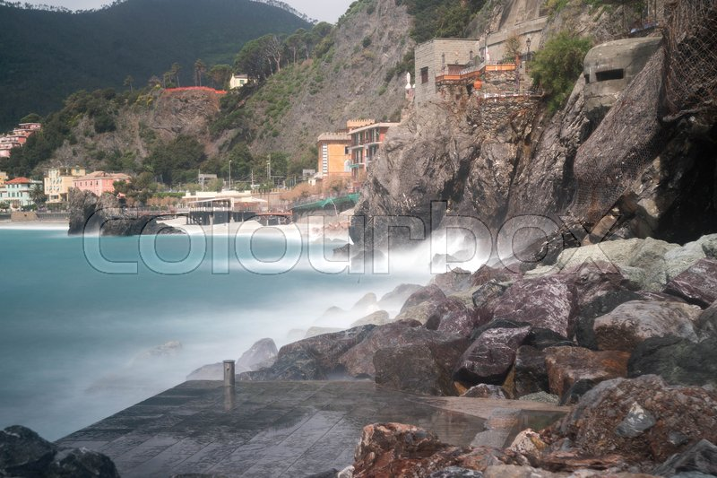 Stock image of 'Italy sea tourism in europe beautiful travel location'
