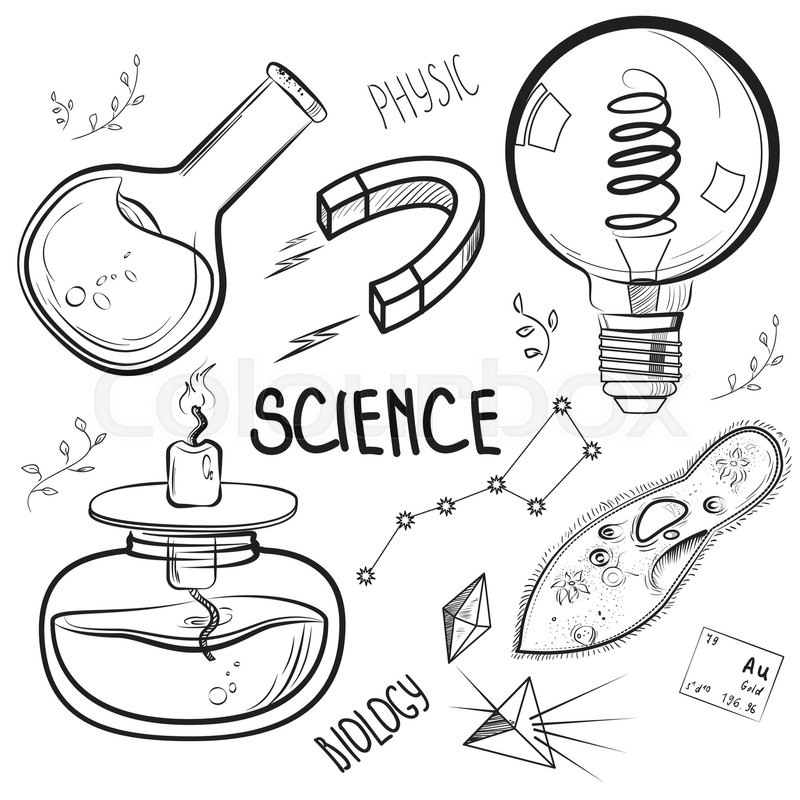 Science Experiment Drawing at GetDrawings | Free download |Lab Chemist Drawings