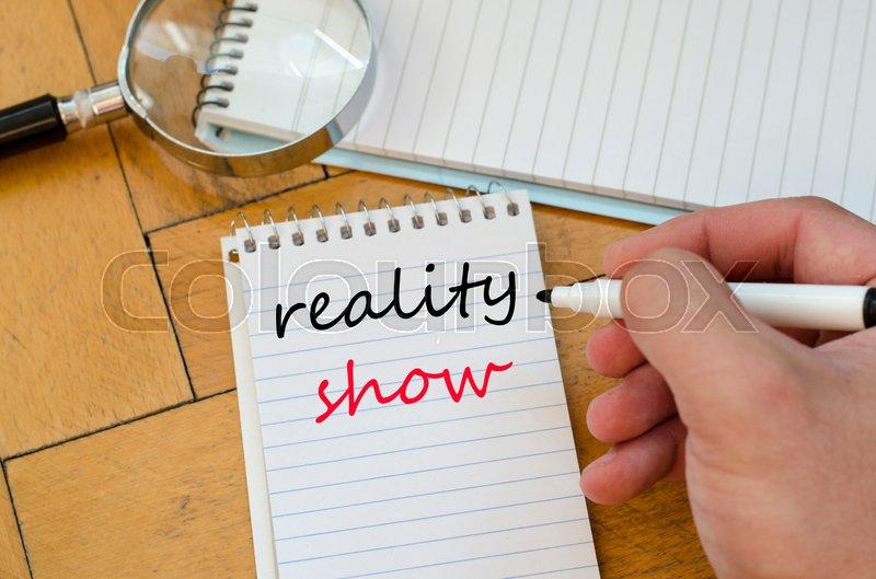 writing a reality show