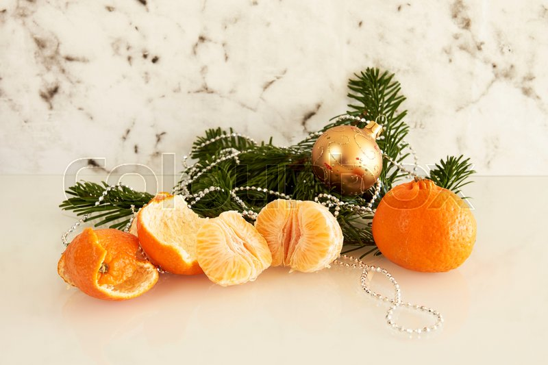 Stock image of 'mandarin, clementine, fruit'