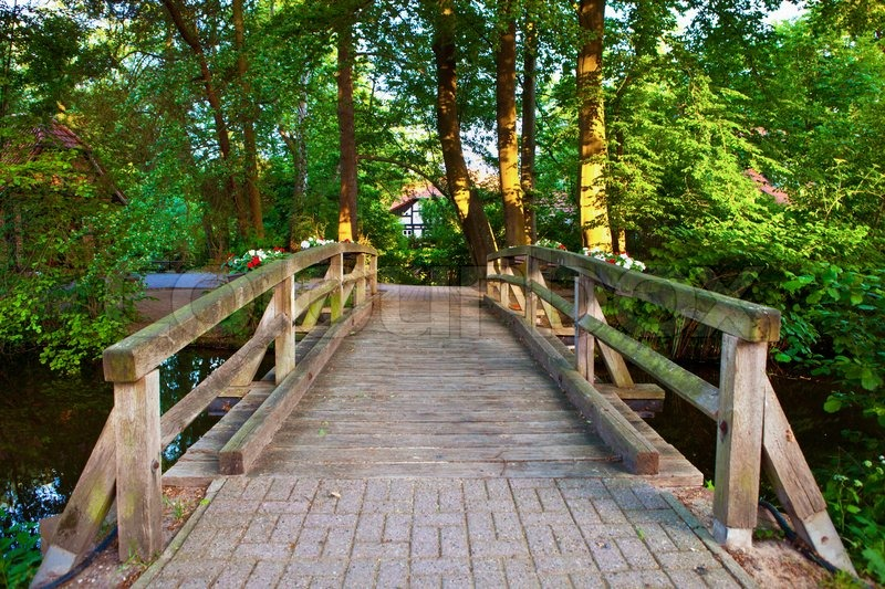 Image result for small bridge on the river