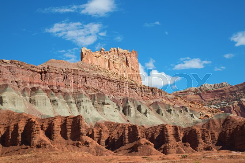 Stock image of 'Capitol Reef National Park in Utah, USA'