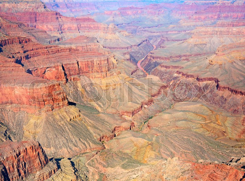 Stock image of 'South Rim of the Grand Canyon. \