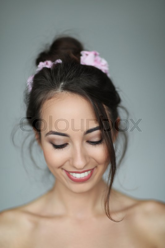 Stock image of 'Lovely woman with beautiful body'