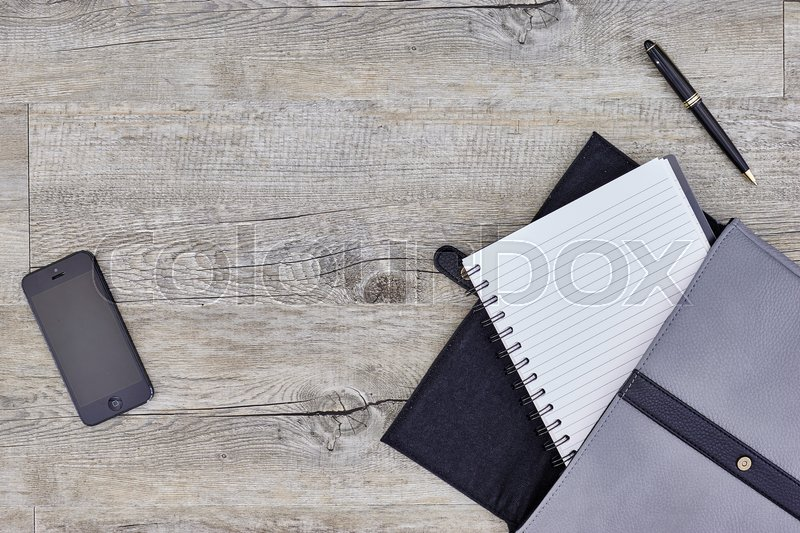 Stock image of 'A studio photo of a business stationery case'