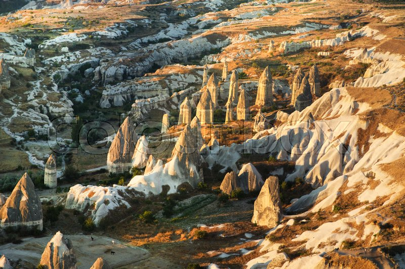 Stock image of 'Mountain landscape. Cappadocia, Anatolia, Turkey.'