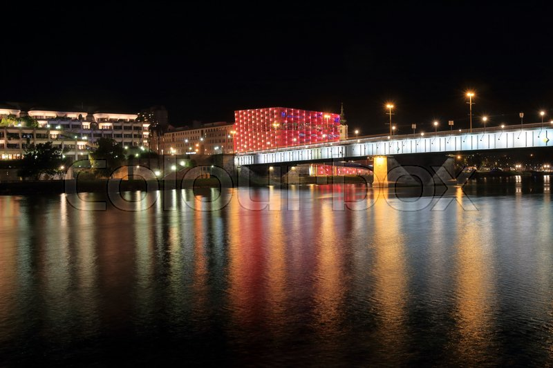 Stock image of 'Ars Electronica Center by the Danube\Ars Electronica Linz GmbH is an Austrian cultural, educational and scientific institute active in the field of new media art, founded in 1979'