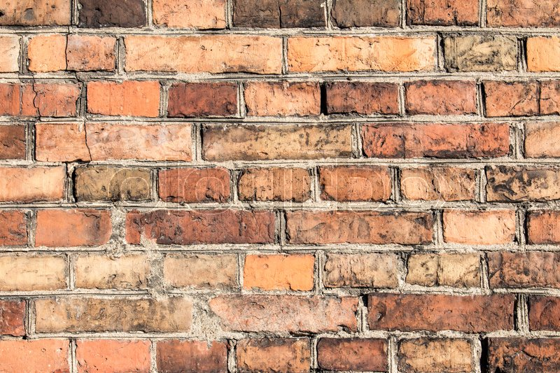 Stock image of 'Vintage brick wall texture. Can be used as background.'