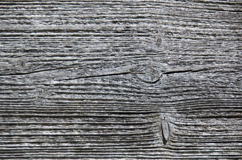 Nahaufnahme Eines Verwitterten Holz Oberflche Grau