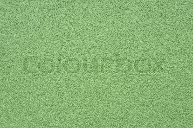 Grain green paint stucco wall texture bakground stock photo colourbox - Textured paint for exterior walls plan ...
