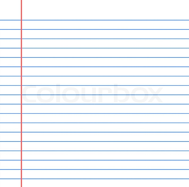 Single Sheet Of Grungy Lined Note Paper Background Texture