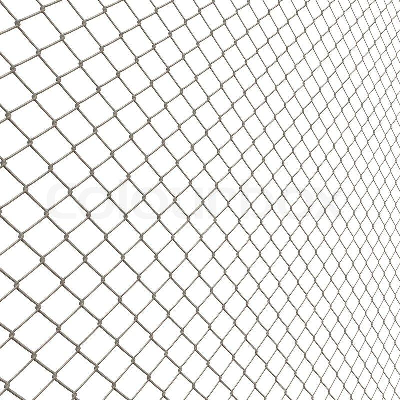 Eine 3d Kette Link Zaun Textur Auf Stockfoto Colourbox