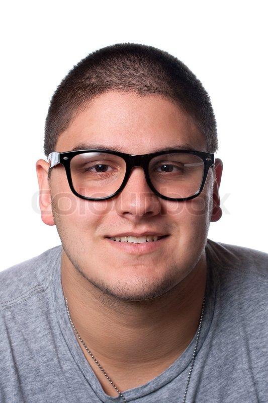 Nerd Brille Mann