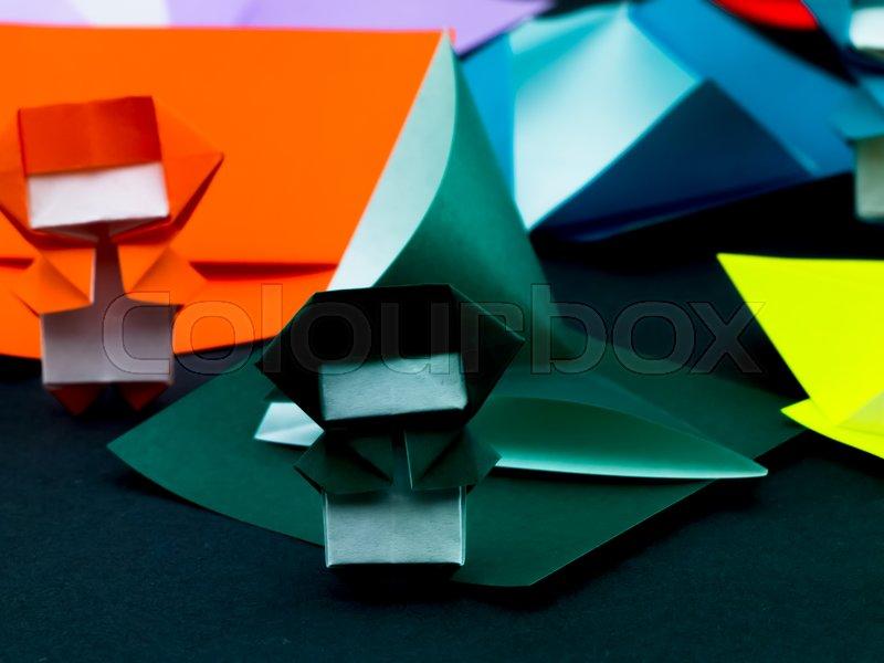 How to make an Origami Kaleidoscope   Easy Origami Tutorial ...   600x800