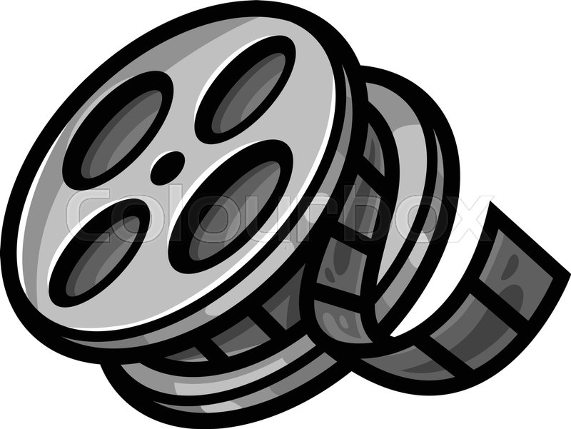 movie theater cinema film reel unspooling stock vector film strip clip art images film strip clip art black and white
