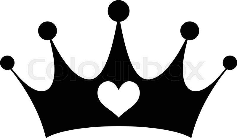 princess crown stock vector colourbox rh colourbox com princess crown vector free princess crown vector illustration free