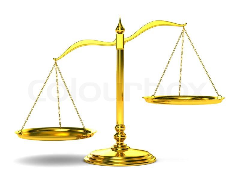 Waagen Der Gerechtigkeit Auf Wei U00dfem