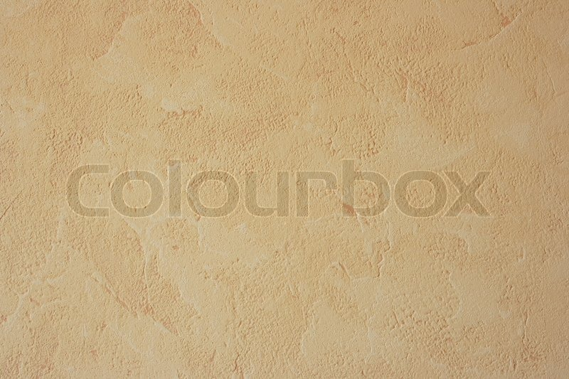 Beige Wall Texture Close Up Stock Photo