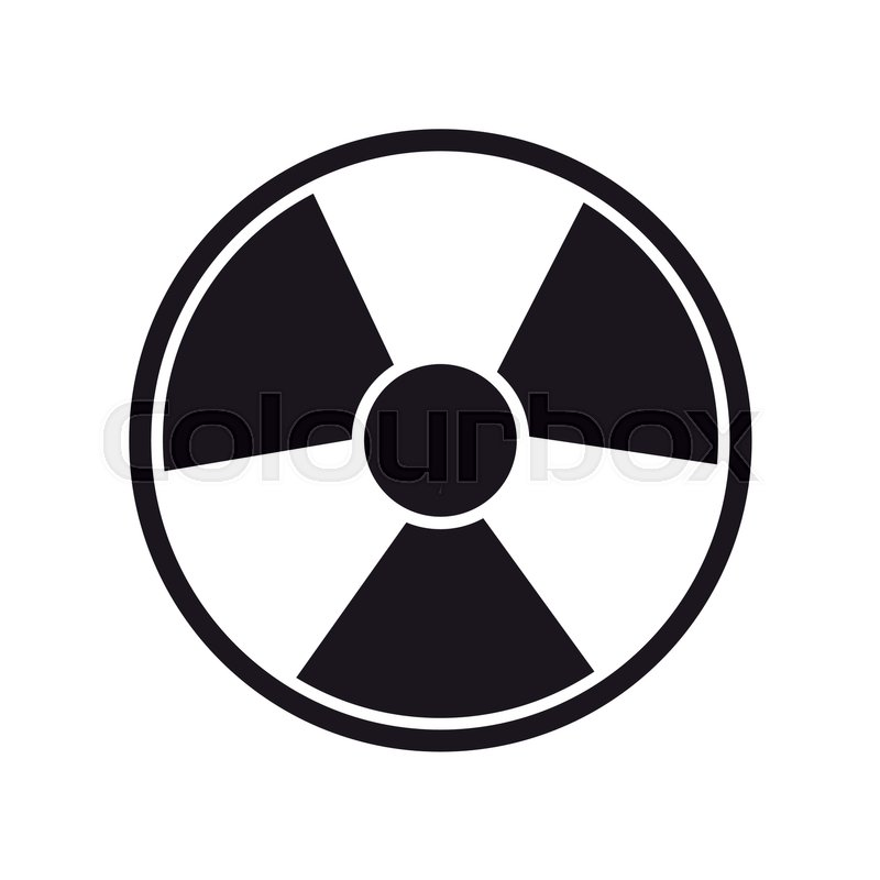 Toxic and nuclear symbol over white background vector illustration toxic and nuclear symbol over white background vector illustration stock vector colourbox altavistaventures Images
