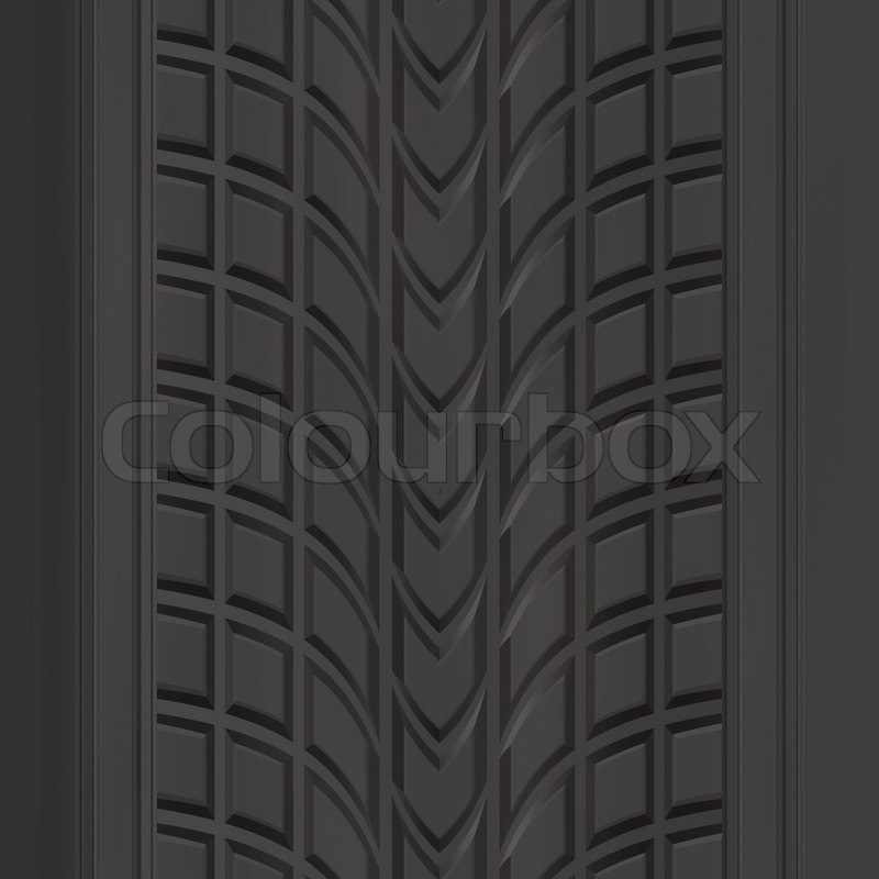 A Car Or Truck Tire Tread Texture That Tiles Seamlessly
