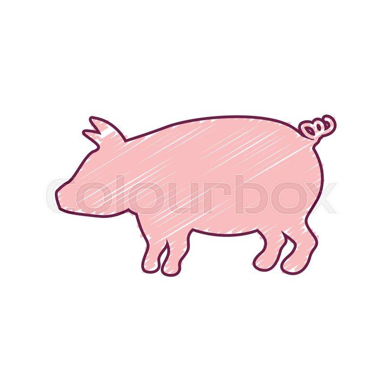 Atemberaubend Schwein Färbung Blatt Bilder - Druckbare Malvorlagen ...