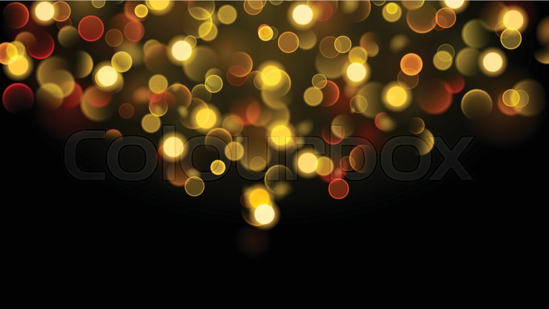 Abstract background with bokeh effect. ... | Stock Vector ...