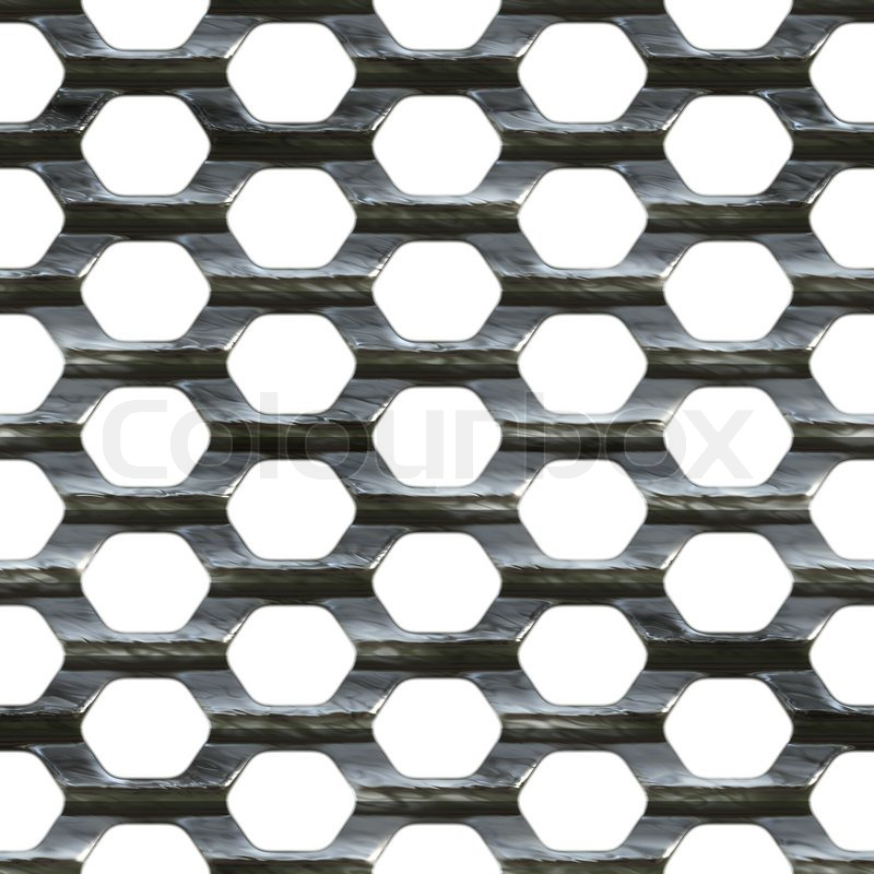 Steel wire mesh that tiles seamlessly as a pattern. | Stock Photo ...