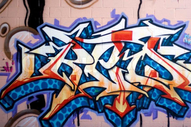 Spray Paint Art On Wall - Elitflat