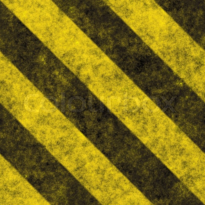 stock image of a diagonal hazard stripes texture these are weathered