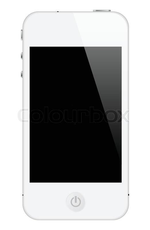 Darstellung Smartphone   Vektor