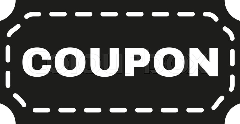 Discount parking coupons icon