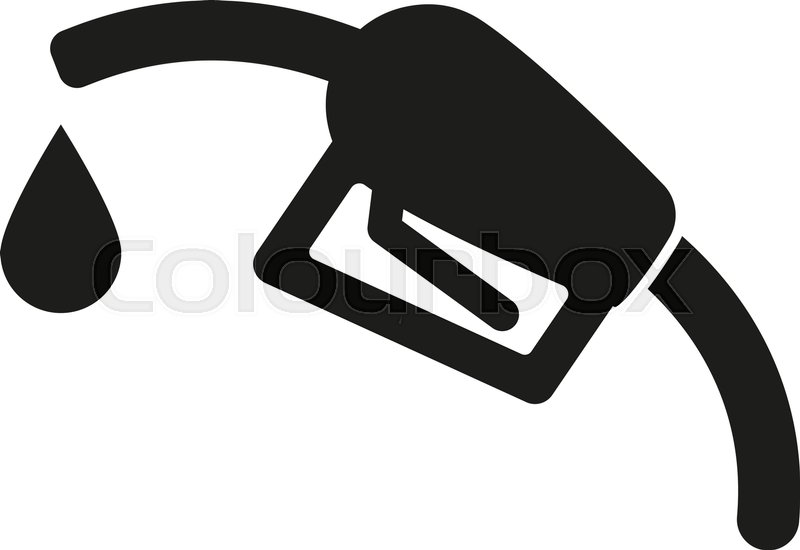 The Gas Station Icon Gasoline And Diesel Fuel Symbol Flat Vector