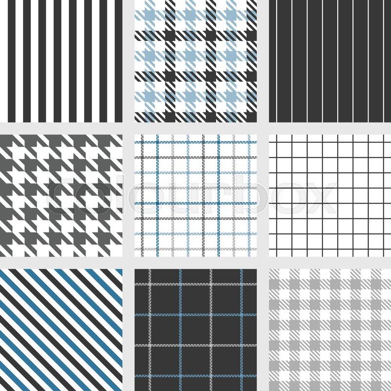 Pinstripe Windowpanebengal Stripe Graph Check Houndstooth Classy Pinstripe Pattern