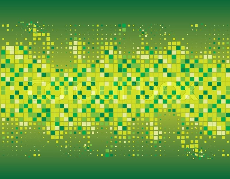 Abstract background of green and yellow. Vector ...