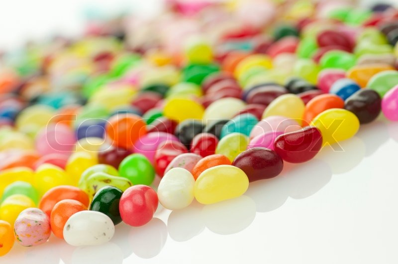 Stock image of 'colorfull candies , close up shot for background'