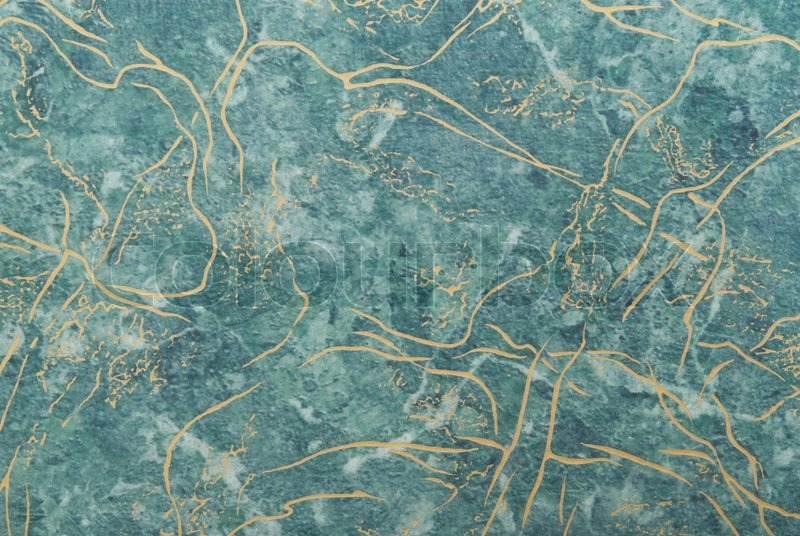 Green Marble Surface For Backgrounds And Textures Stock