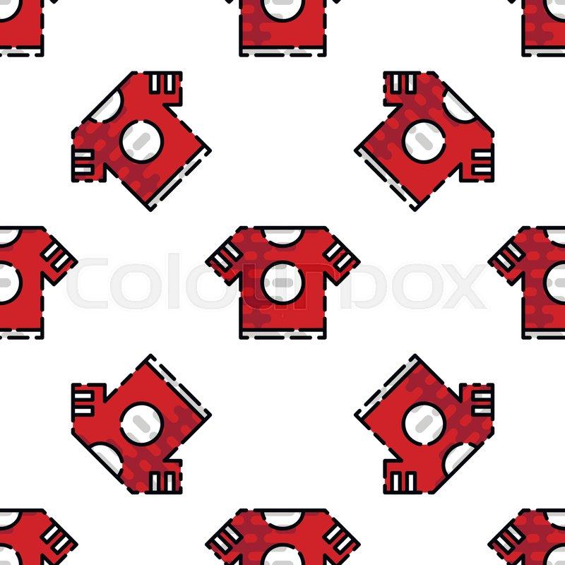 8ee4c2aaabd087 American football pattern. Sport background. Vector illustration EPS 10