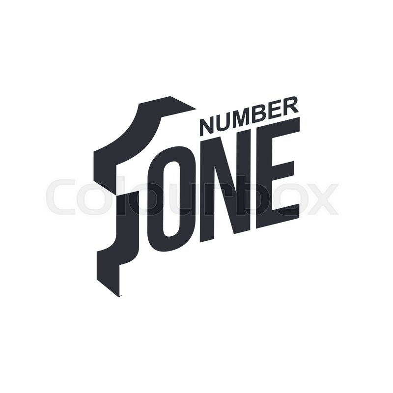 Black and white number one diagonal logo template vector black and white number one diagonal logo template vector illustrations isolated on white background graphic logo with diagonal logo with three dimensional maxwellsz