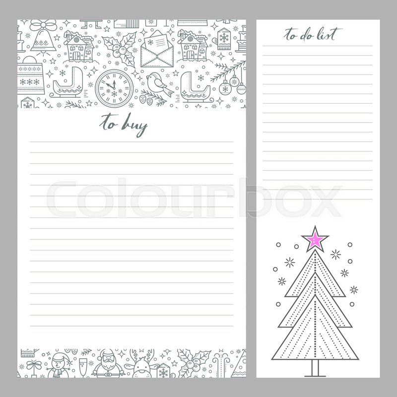 Monthly Planner Template To Do List And Shopping Organizer Is