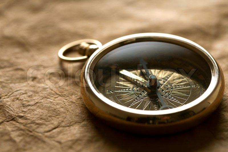 Vintage compass - Stock Photo - Colourbox