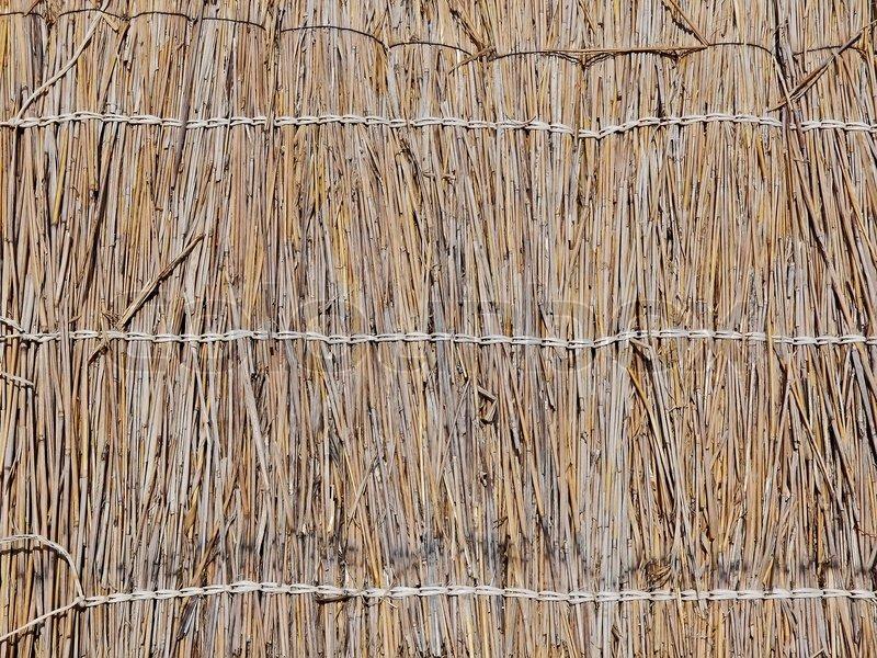 The Straw Texture Wallpaper Stock Photo Colourbox