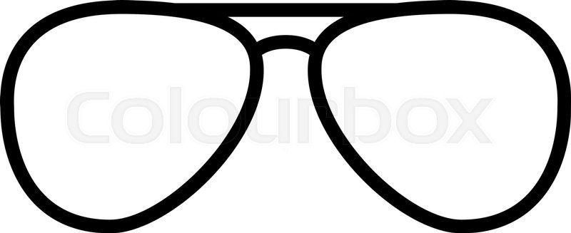 drawing of cop glasses cinemas 93 Oakley Logo Vector vector aviator sunglasses icon minimal vacation design stock vector colourbox