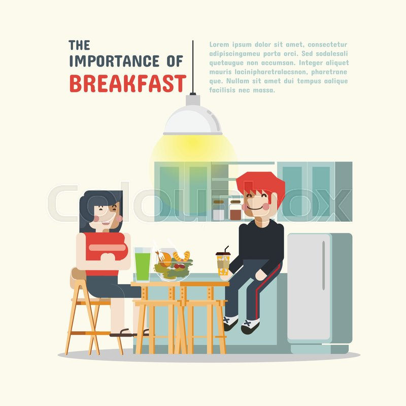 the importance of breakfast Did your mom always say that breakfast was the most important meal of the day turns out she was right more and more researchers who study the morning meal are finding that breakfast plays a key role in healthy living and yet many people sacrifice it in their rush to get out the door the average .