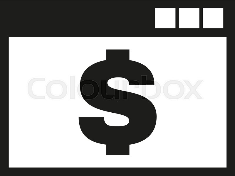 The Payment Icon Pay And E Commerce Dollar Money Symbol Ui Web